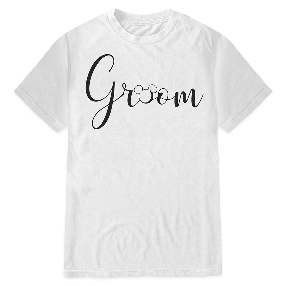 Mickey Mouse Icon Groom T-Shirt for Men