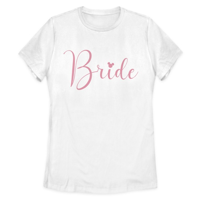 Mickey Mouse Icon Bride T-Shirt for Women