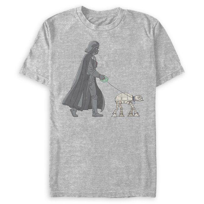 Darth Vader and AT-AT Walker T-Shirt for Adults – Star Wars