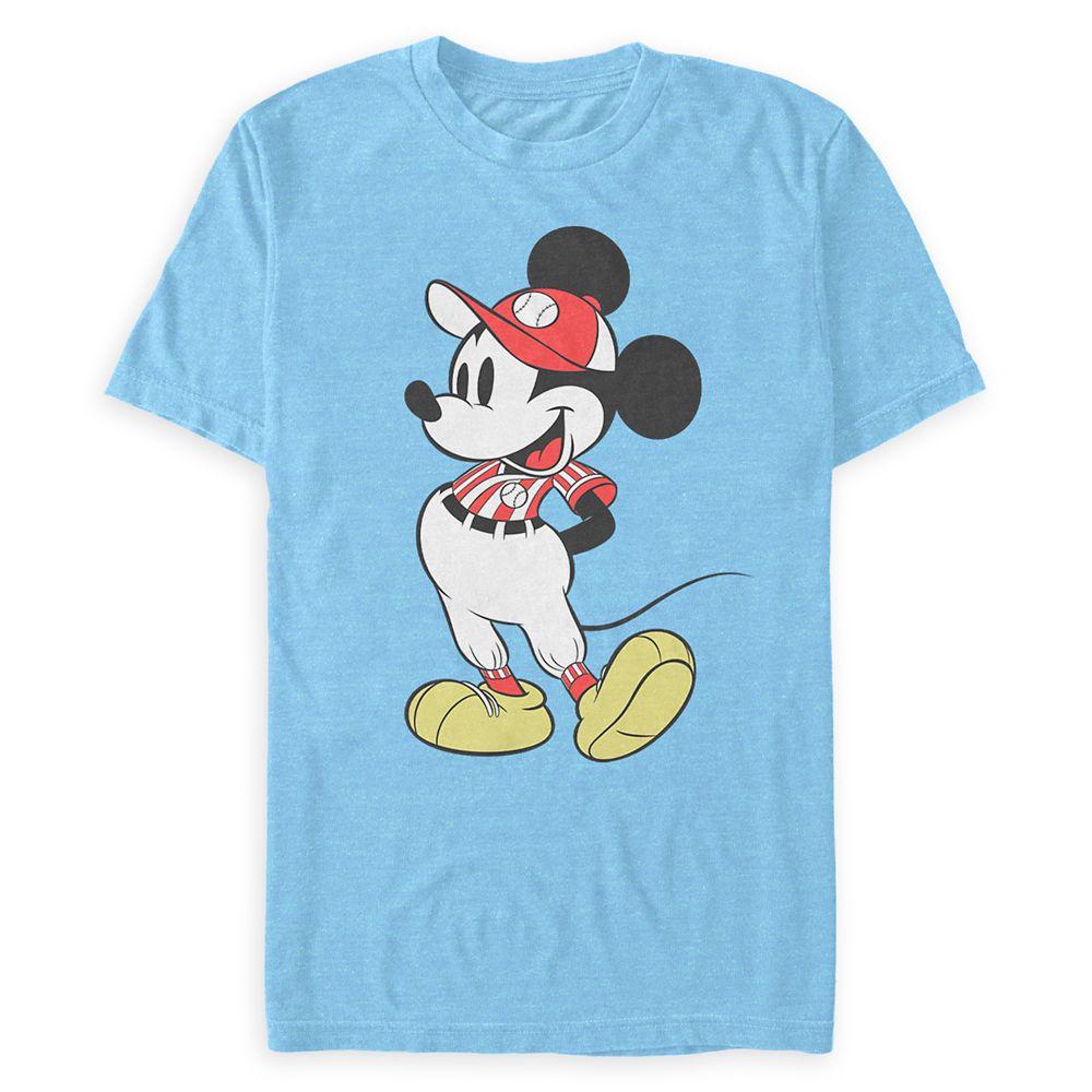 Mickey Mouse Baseball Uniform T-Shirt for Adults