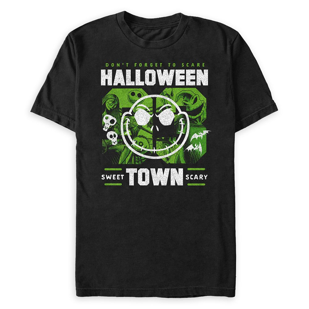 Halloween Town T-Shirt for Adults – Tim Burton's The Nightmare Before Christmas