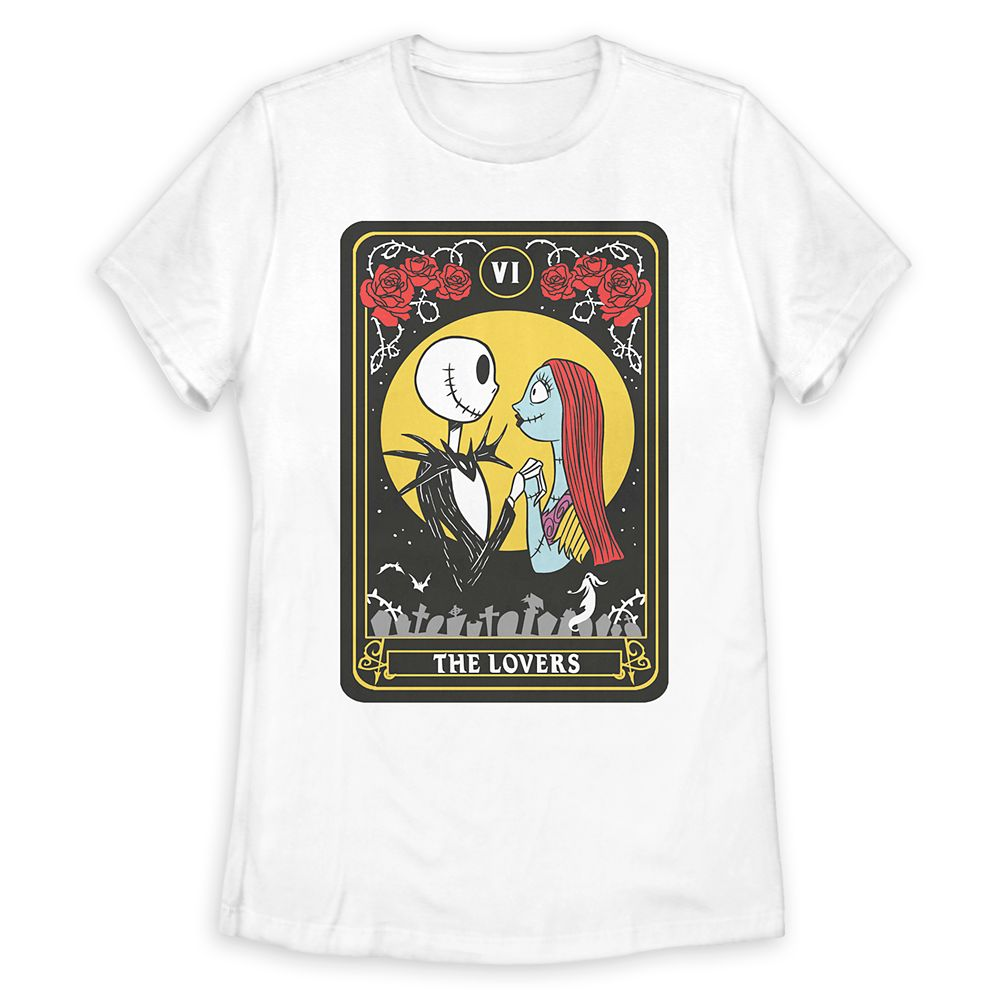 Jack Skellington and Sally T-Shirt for Women