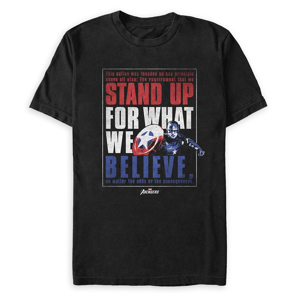 Captain America T-Shirt for Adults
