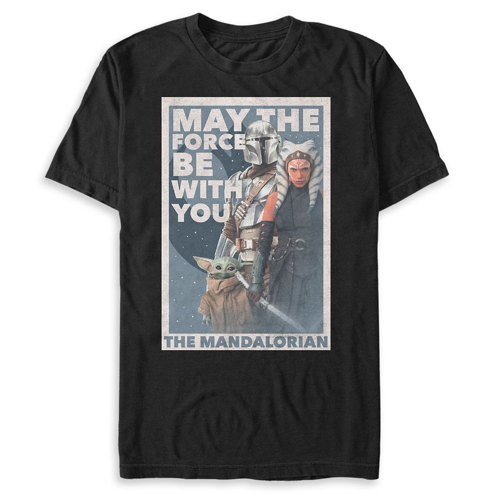 Star Wars: The Mandalorian Season 2 T-Shirt for Adults – May the Force Be with You – Limited Release