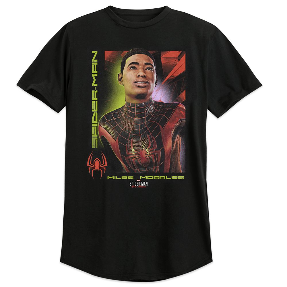 Spider-Man: Miles Morales Portrait T-Shirt for Adults