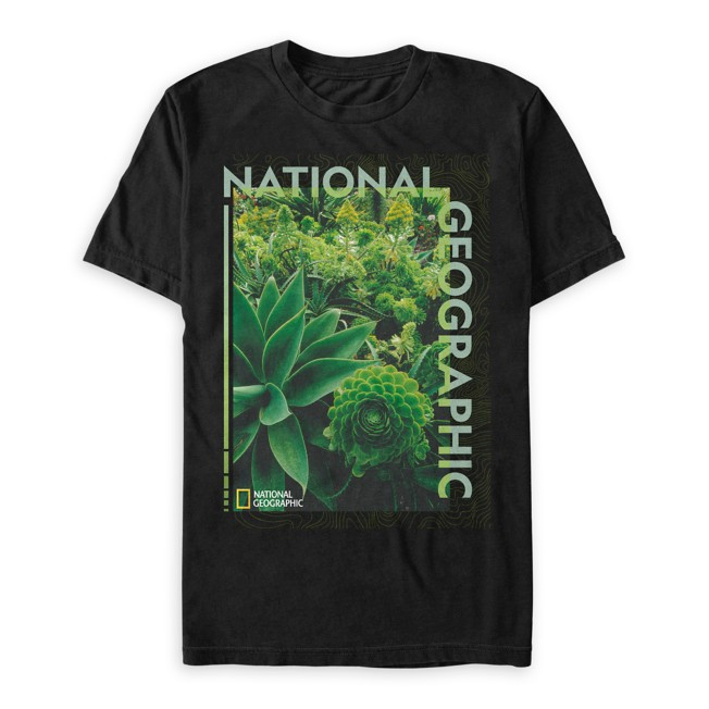 National Geographic Greenery T-Shirt for Adults