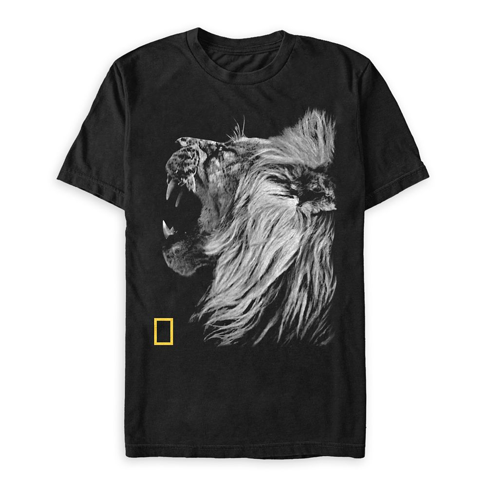 National Geographic Lion T-Shirt for Adults