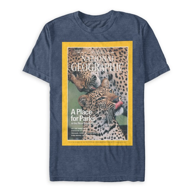 National Geographic Leopards T-Shirt for Adults