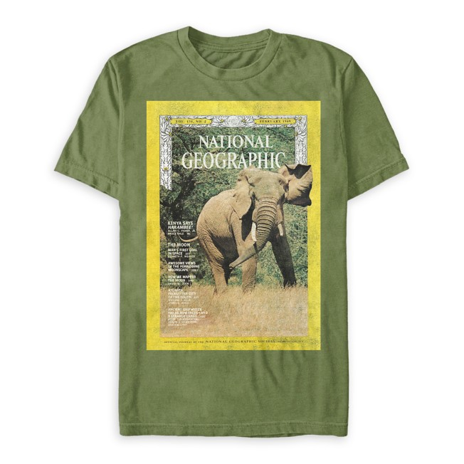 National Geographic Elephant T-Shirt for Adults