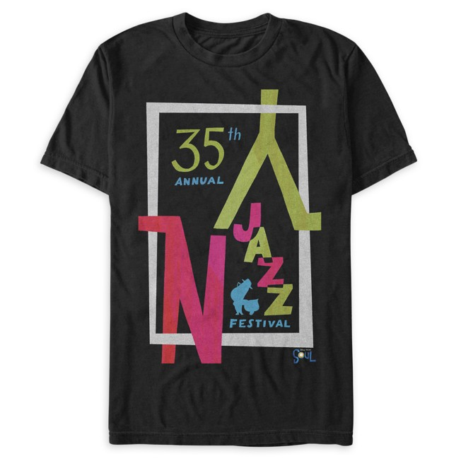 35th Annual NY Jazz Festival Logo T-Shirt for Adults – Soul