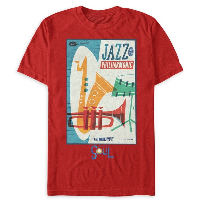 Jazz at the Philharmonic T-Shirt for Adults – Soul