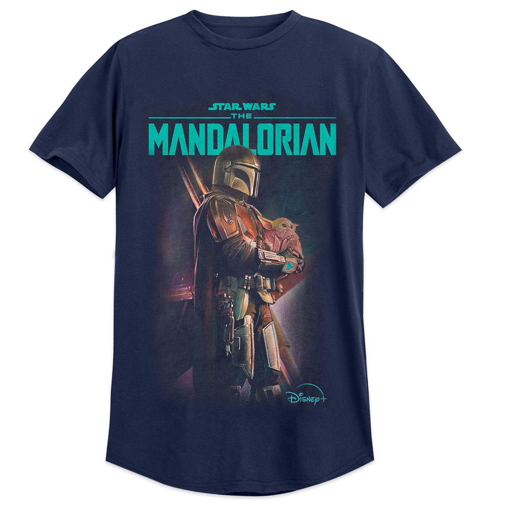 The Mandalorian and the Child T-Shirt for Adults – Star Wars: The Mandalorian