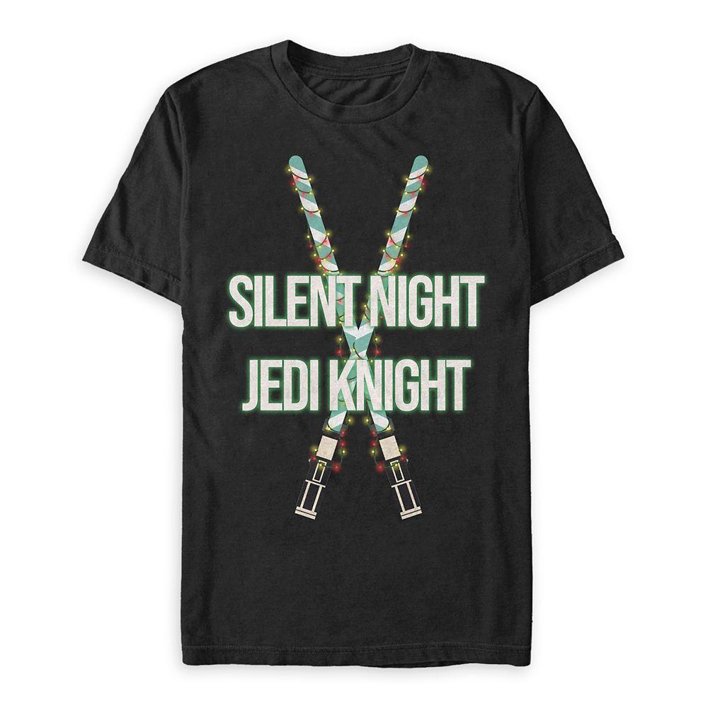 Star Wars ''Silent Night Jedi Knight'' T-Shirt for Adults