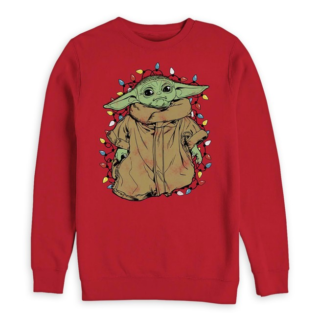 The Child with Holiday Lights Pullover for Men – Star Wars: The Mandalorian