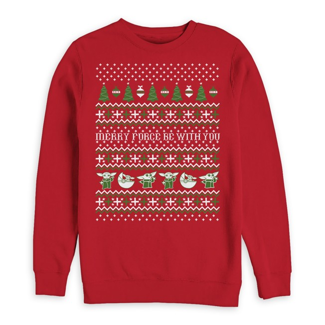 The Child ''Merry Force Be With You'' Pullover for Men
