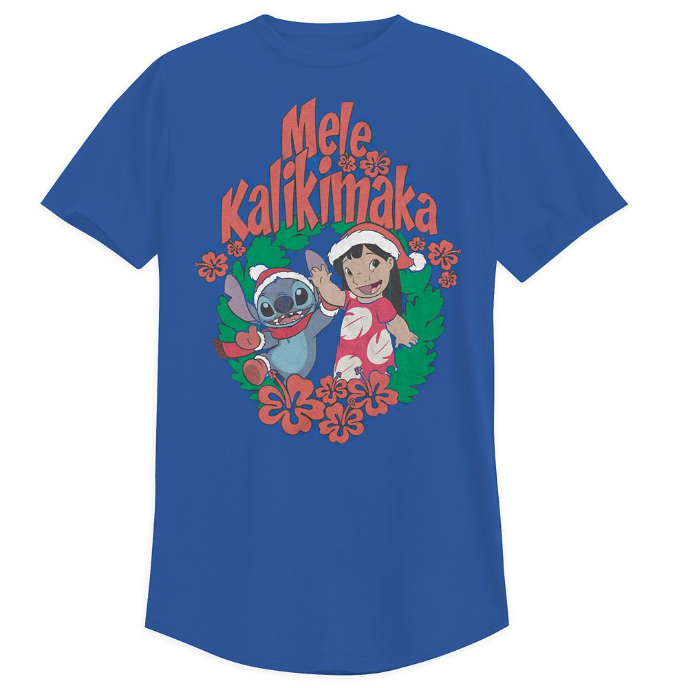 Lilo & Stitch Holiday T-Shirt for Adults