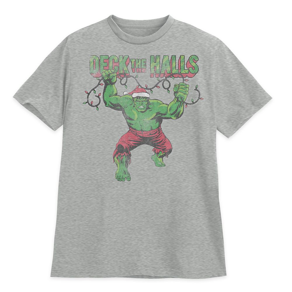Hulk Holiday T-Shirt for Adults