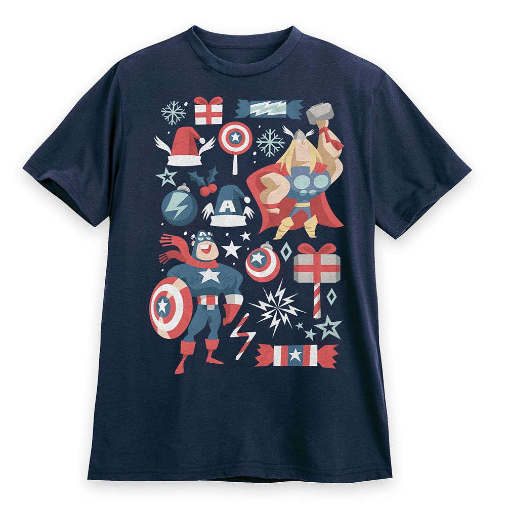 Avengers Holiday T-Shirt for Adults