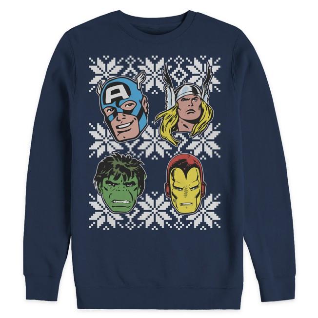 Avengers Ugly Holiday Sweatshirt for Adults