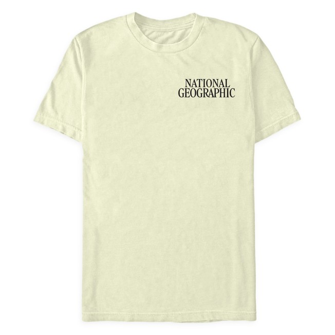 National Geographic Dinosaur Art T-Shirt for Adults