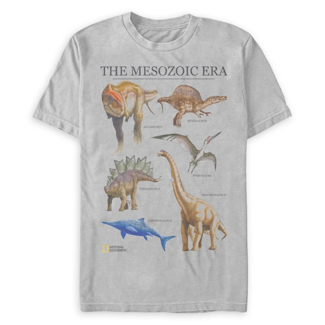 National Geographic ''The Mesozoic Era'' T-Shirt for Adults