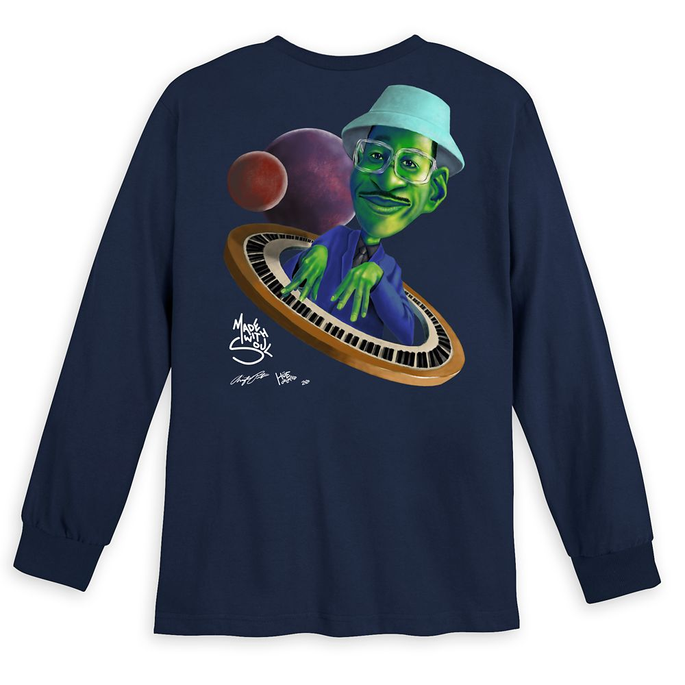 Soul ''Joe's World'' Long Sleeve T-Shirt for Adults by Arrington Porter and Hue Unlimited