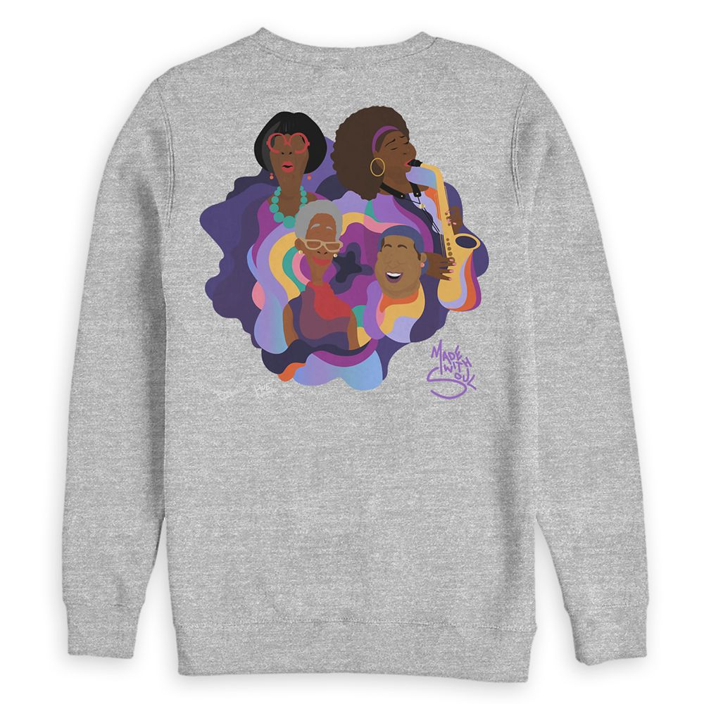 Soul ''The Village'' Sweatshirt for Adults by Bee Harris and Hue Unlimited