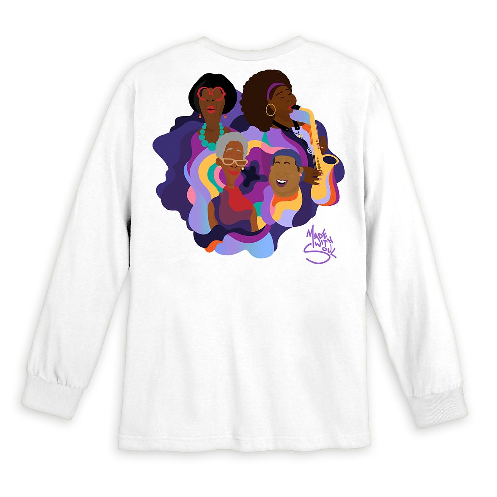 Soul ''The Village'' Long Sleeve T-Shirt for Adults by Bee Harris and Hue Unlimited