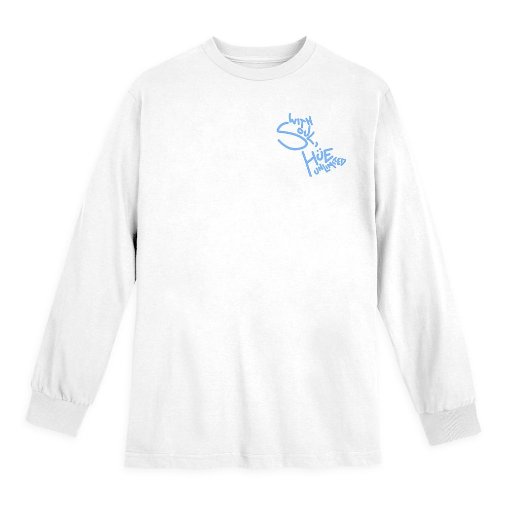 Soul ''The Great Gardner'' Long Sleeve T-Shirt for Adults by Cory Van Lew and Hue Unlimited