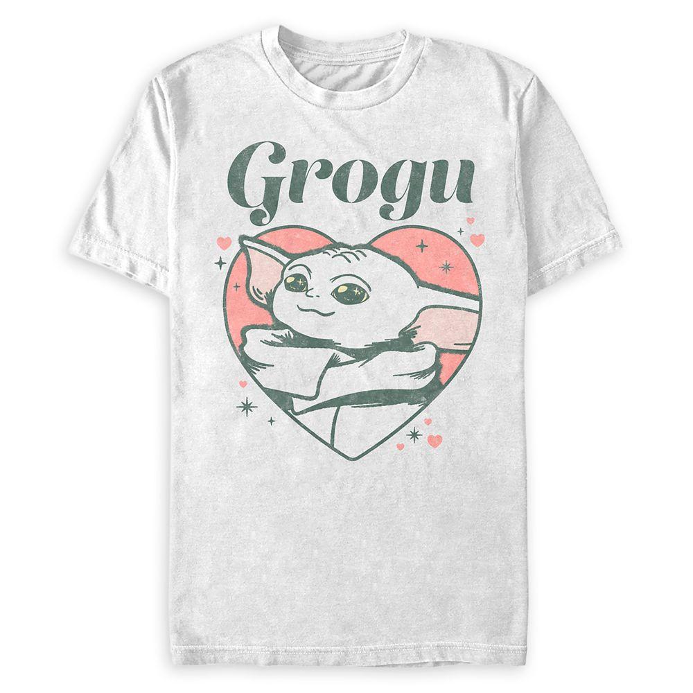 Grogu Heart T-Shirt for Adults – Star Wars: The Mandalorian