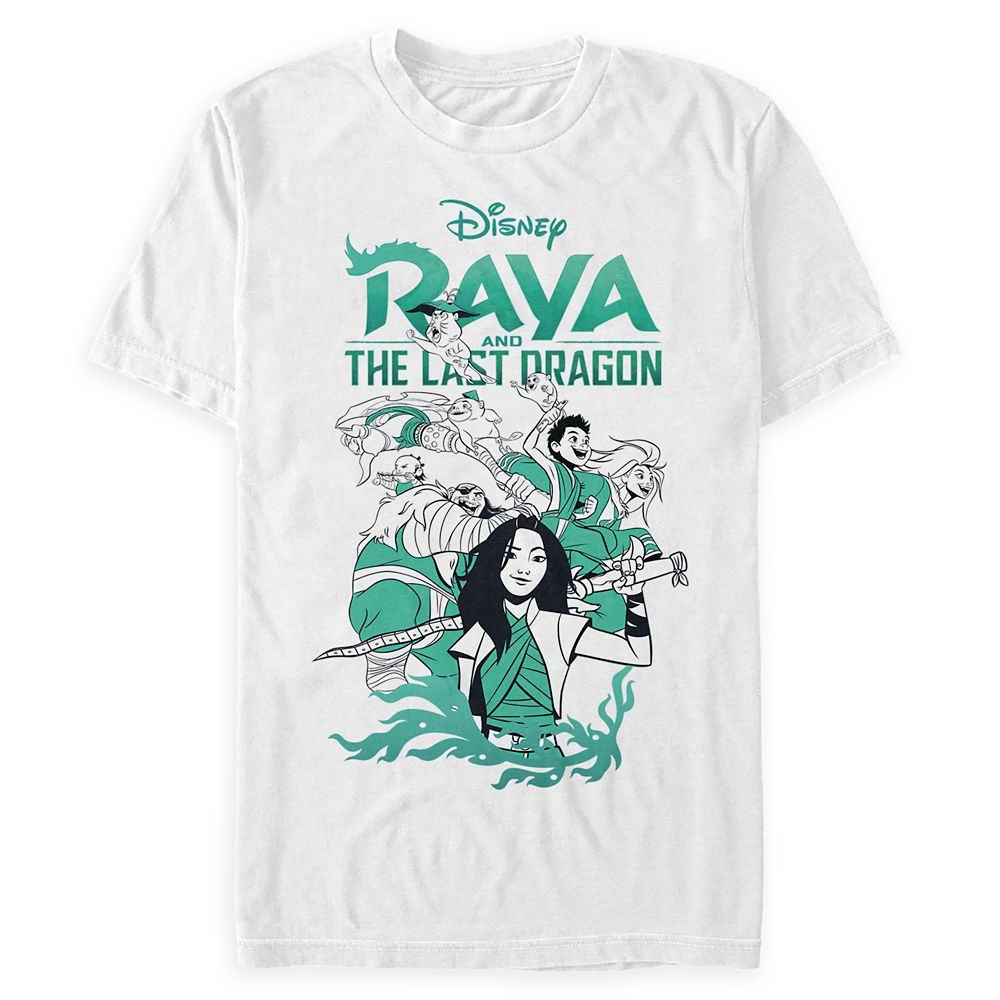 Raya and the Last Dragon Cast T-Shirt for Adults
