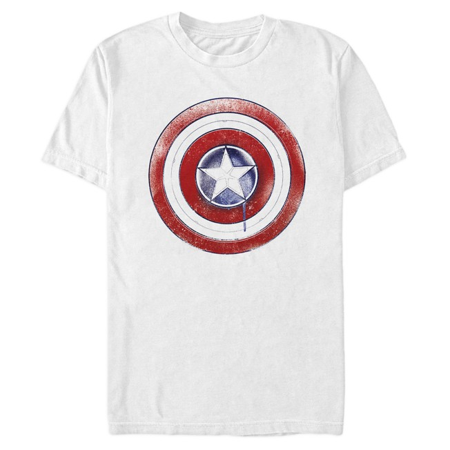 Captain America Shield Icon T-Shirt for Adults – The Falcon and the Winter Soldier