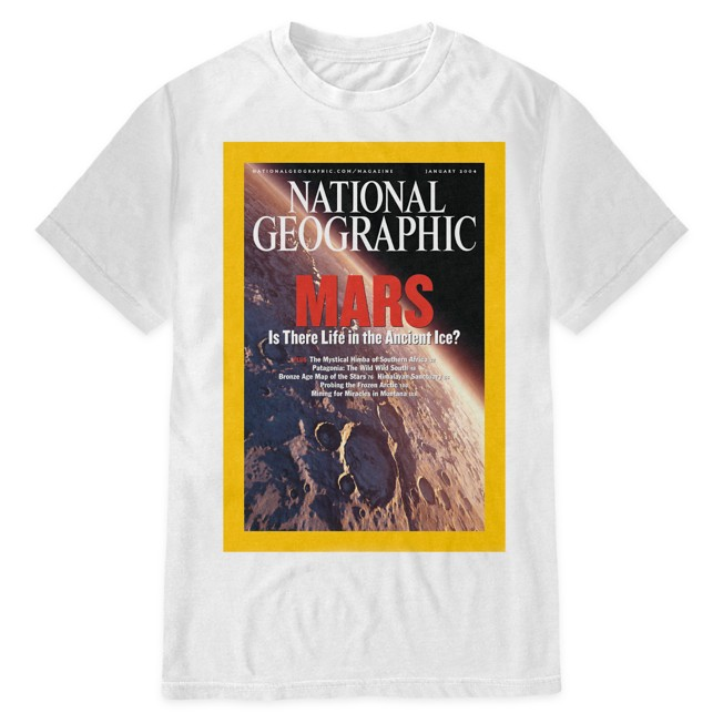 National Geographic Mars T-Shirt for Adults