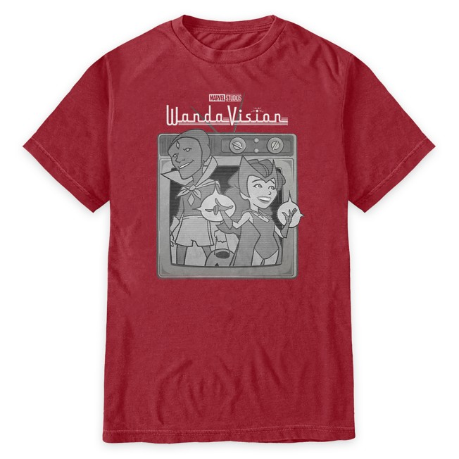 WandaVision Cartoon T-Shirt for Adults
