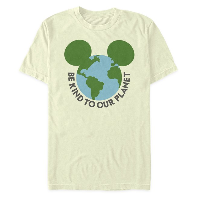 Mickey Mouse Icon Earth Day T-Shirt for Adults