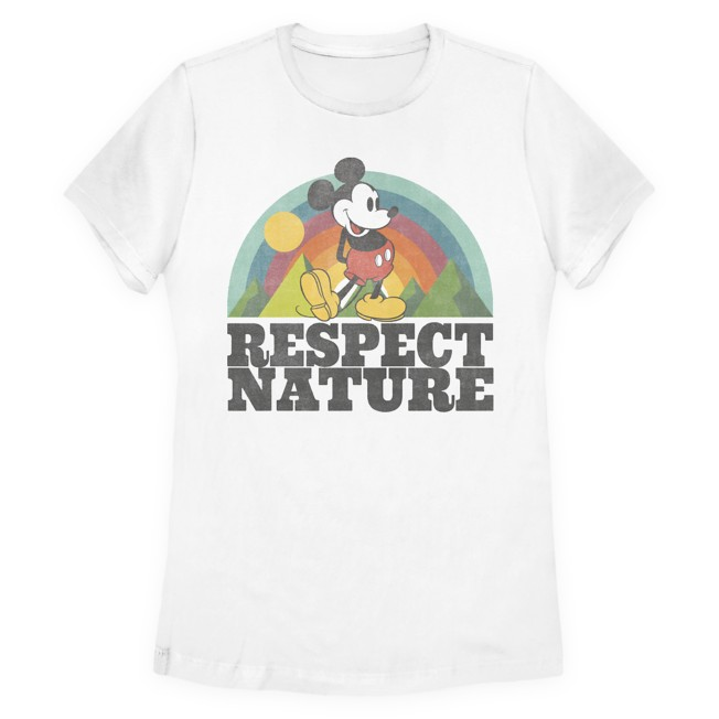 Mickey Mouse Earth Day T-Shirt for Women