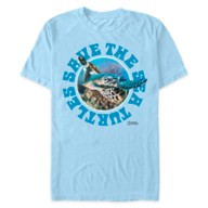 National Geographic ''Save the Sea Turtles'' T-Shirt for Adults
