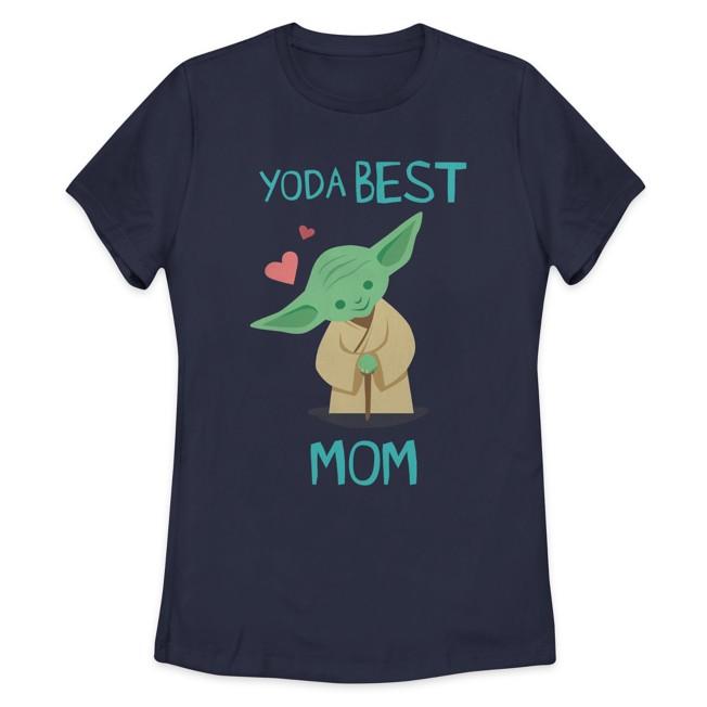 Yoda ''Best Mom'' T-Shirt for Women – Star Wars