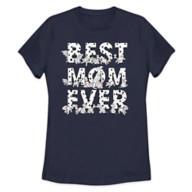 Perdita and Puppies ''Best Mom Ever'' T-Shirt for Women – 101 Dalmatians