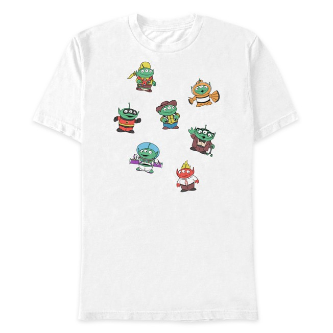 Toy Story Alien Pixar Remix T-Shirt for Adults – Toy Story