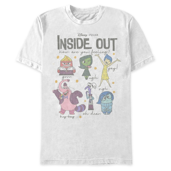 Inside Out ''How Are You Feeling Today'' T-Shirt for Adults
