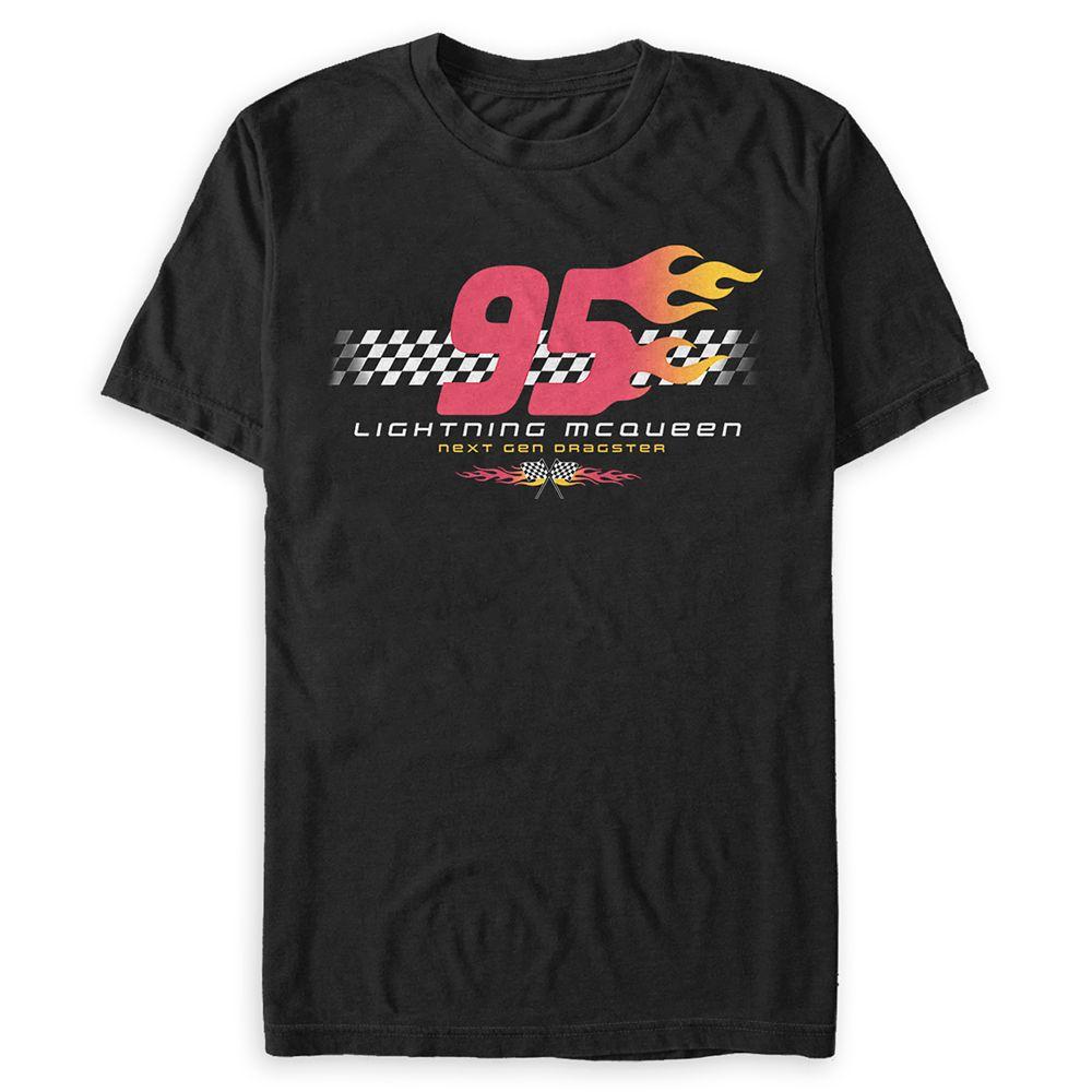 Lightning McQueen ''95'' T-Shirt for Adults –Cars