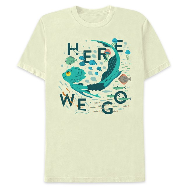Luca Sea Monster ''Here We Go'' T-Shirt for Adults