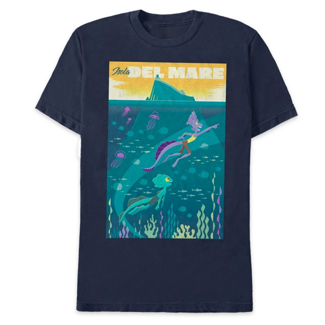 Luca and Alberto Isola Del Mare T-Shirt for Adults