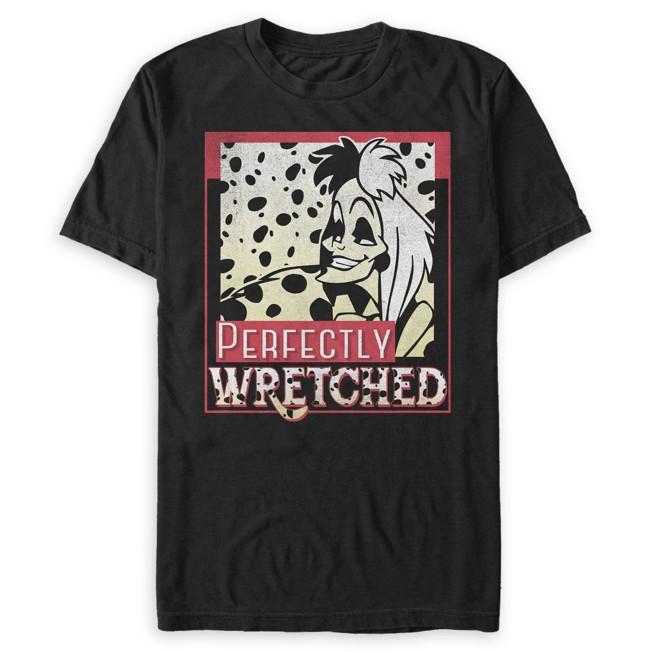 Cruella De Vil T-Shirt for Adults – 101 Dalmatians
