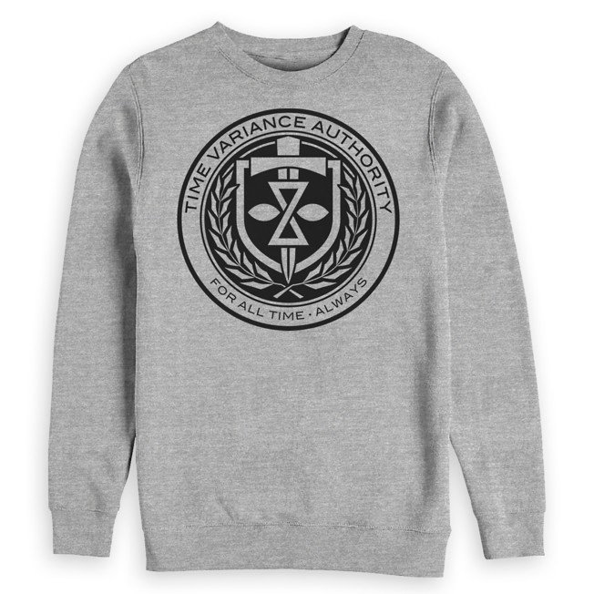 Time Variance Authority Seal Pullover Sweatshirt for Adults – Loki