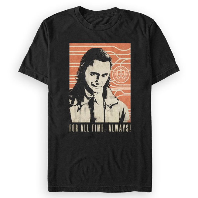 Loki ''For All Time. Always!'' T-Shirt for Adults