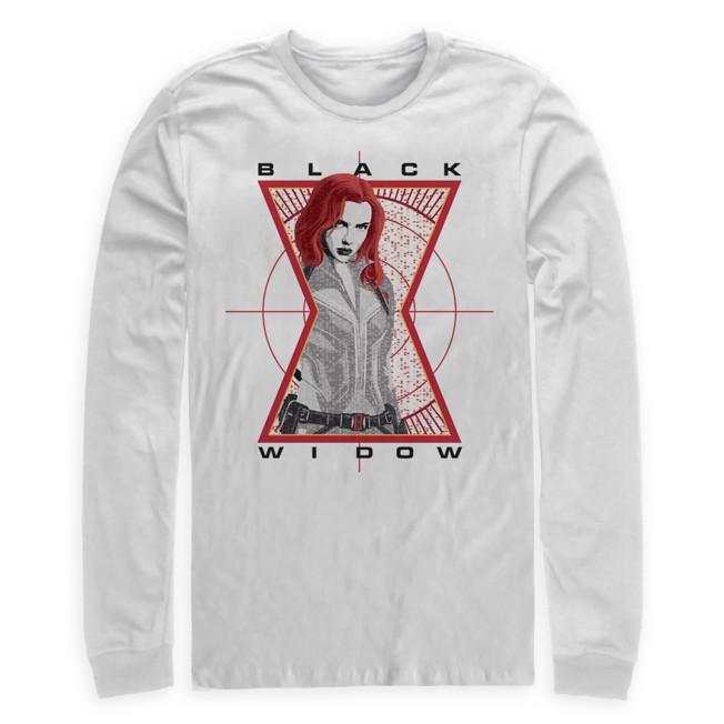 Black Widow Long Sleeve T-Shirt for Adults