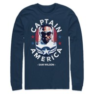 Captain America Long Sleeve T-Shirt for Adults – The Falcon and the Winter Soldier