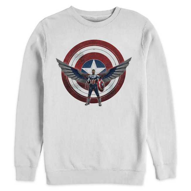 Captain America Sweatshirt for Adults – The Falcon and the Winter Soldier
